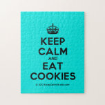 [Crown] keep calm and eat cookies  Puzzles
