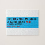 3rd Davyhulme Scout & Guide Band  Puzzles
