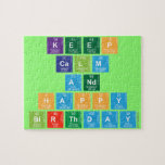 KEEP CALM AND HAPPY BIRTHDAY  Puzzles
