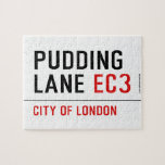 PUDDING LANE  Puzzles