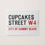 cupcakes Street  Puzzles
