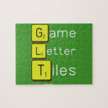 Game Letter Tiles  Puzzles