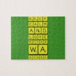 keep calm and love Retha wa Bongz  Puzzles