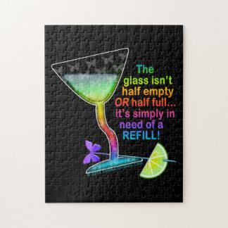 PUZZLES - GLASS HALF FULL