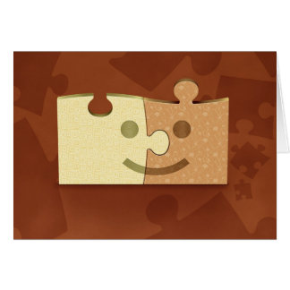 Puzzles Greeting Cards