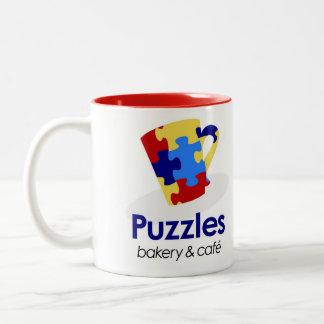 Puzzles Mug Two-Tone Mug