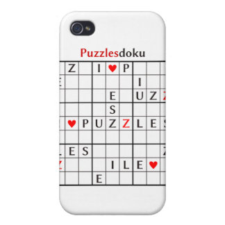 puzzlesdoku iPhone 4 case