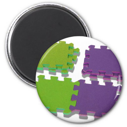 PuzzleStack052109shadow Imán Redondo 5 Cm