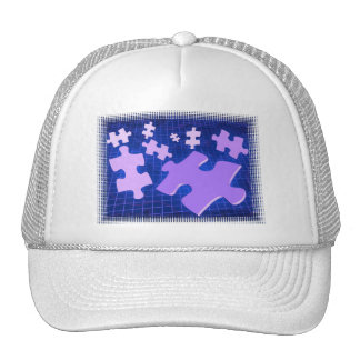Puzzling  Baseball Hat