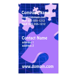 Puzzling Business Cards