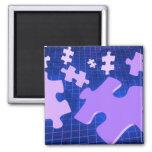 Puzzling Magnet Fridge Magnet