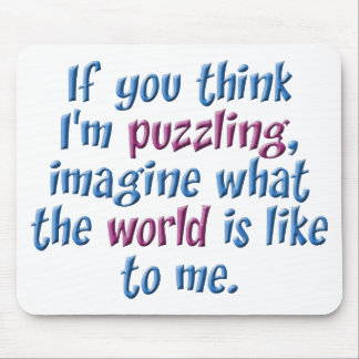Puzzling World Mouse Pad