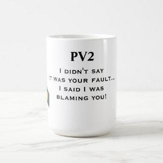 PV2 Coffee mug