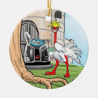 PV Mascot 'Technology Message' Ornament