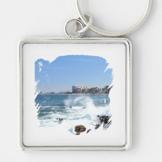 PV View With Crashing Wave Keychain