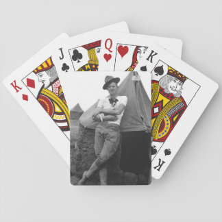 Pvt. Browne, Co. M, 16th Infty., Camp El Valle_War Card Deck