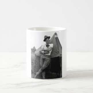 Pvt. Browne, Co. M, 16th Infty., Camp El Valle_War Coffee Mug