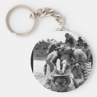 Pvt. W.D. Fuhlrodt es imagen from_War quitada Llavero Redondo Tipo Pin
