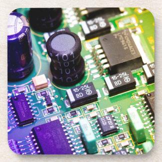 PWB - Placa de circuito impresa Posavaso