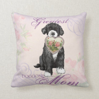 PWD Heart Mom Throw Pillow