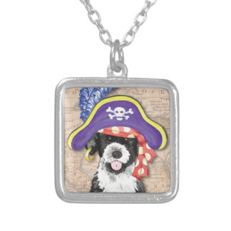 PWD Pirate Silver Plated Necklace