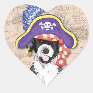 PWD Pirate Heart Sticker