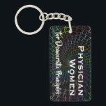 """PWDP ecg vortex keychain<br><div class=""""desc"""">PWDP vortex ecg on a keychain!</div>"""