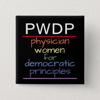 PWDP Rainbow Button