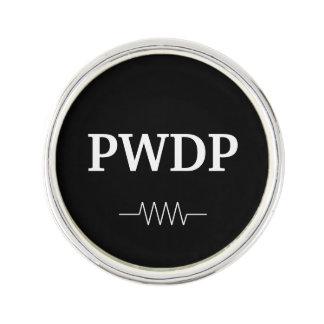 PWDP Resistor Round Lapel Pin