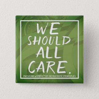 PWDP we care pin