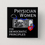 """PWDP xray Logo button with Name<br><div class=""""desc"""">2-inch square button with PWDP name.</div>"""