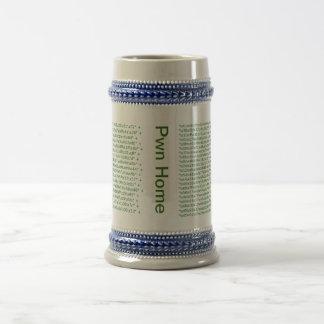 Pwn Home Reverse Shell Stein Coffee Mug