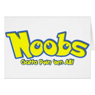 Pwn Noobs Card