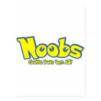 Pwn Noobs Postcard