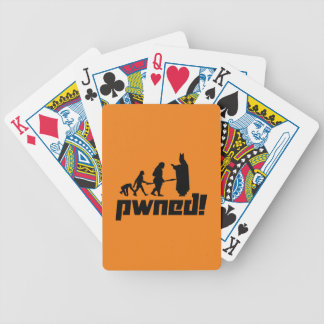 Pwned! Bicycle Playing Cards