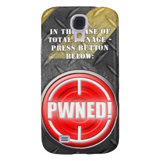 PWNED! Button Galaxy S4 Case