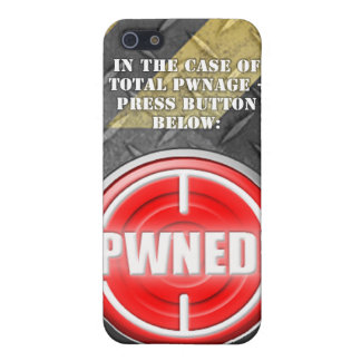PWNED Button Covers For iPhone 5