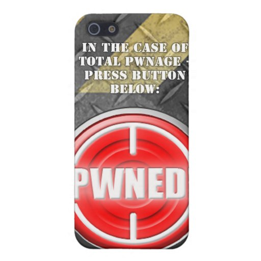 PWNED! Button Covers For iPhone 5