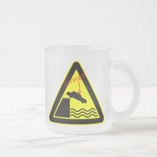 Pwned by Sea Hazard Sign Mug