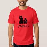 Pwned (dark shirts) tee shirt