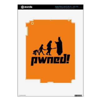 Pwned! iPad 3 Skin