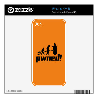 Pwned! iPhone 4S Decals