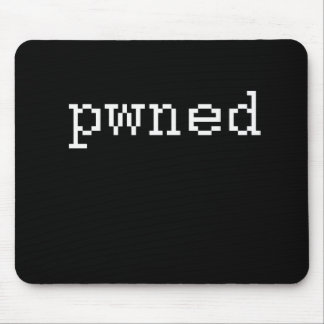 pwned mouse pad