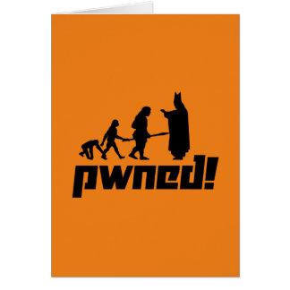 ¡Pwned! Tarjeta De Felicitación