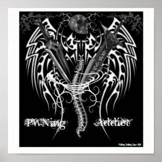 PWNing Addict Logo Poster