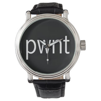 pwnt White Wrist Watch