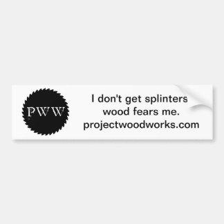pww Bumper Sticker