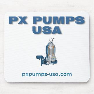 PX bombea el cojín de ratón de los E.E.U.U. Tapete De Ratones
