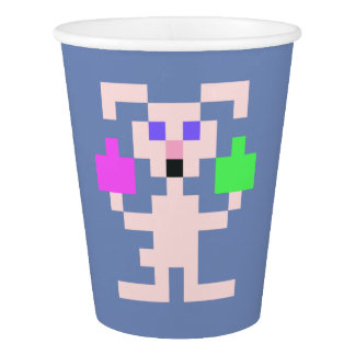 PXL Simple Easter Bunny Paper Cup
