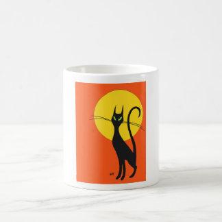 Pyewacket Black Cat Autumn Mug